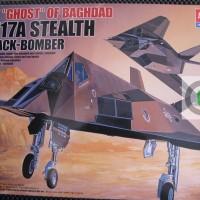 Model Kit / Mokit Academy - Pesawat F117 A Stealth