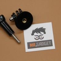 Action Cam Tripod / Monopod Adapter Mount + Thumb Screw
