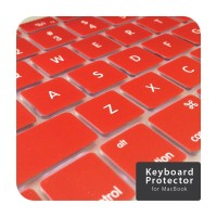 Red Keyboard Cover Macbook