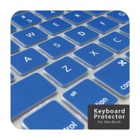 Blue Keyboard Cover Macbook