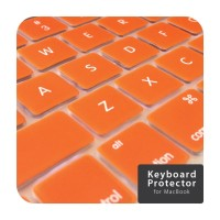 Orange Keyboard Cover Macbook