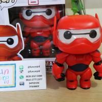Funko POP! Baymax (Red Armored) 6 Vinyl Figures