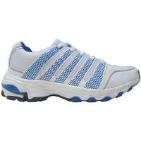 Sepatu Running/Lari/Jogging/Olahraga Merek KETA Kode 599 White/Blue