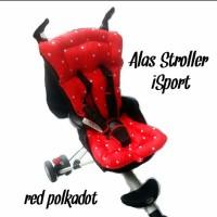 ALAS STROLLER ISPORT RED POLKADOT