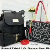 Gucci Ransel T-shirt & Gucci Square Akar