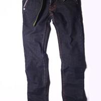 Celana Panjang meral Jeans Slim Blue Black (CB8N)