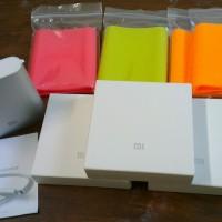 Powerbank Xiaomi 10400 mAh Original 100% Bergaransi Bonus Silicon Case