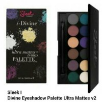Sleek I-Divine Eyeshadow Palette Ultra Mattes v2