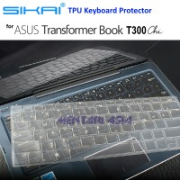 SIKAI TPU Keyboard Protector for ASUS Transformer Book T300 Chi