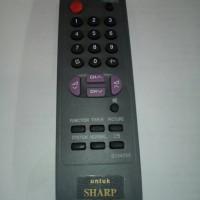 REMOT / REMOTE TV TABUNG SHARP KW