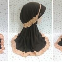 Jilbab / Kerudung Serut Pramuka