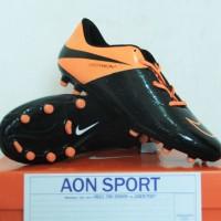 Jual Sepatu Bola Nike Hypervenom Phinish Hitam Orange Terbaru Murah