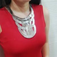 Kalung etnik silver