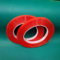 DOUBLE TAPE 3MM MERAH / RED LEM UNTUK TOUCHSCREEN