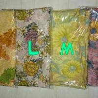 pashmina motif bunga, ukuran 175x75cm