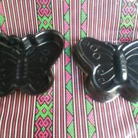 1pcs loyang teflon butterfly mini dimensi 12*12*2cm