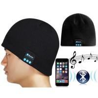 Topi Kupluk Beanie Multifungsi HandsFree Earphone Cover Helm Bluetooth
