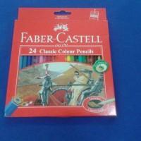 pensil warna Faber castell 24 warna classic colour