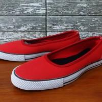 Sepatu Converse All Star Flat Women Merah