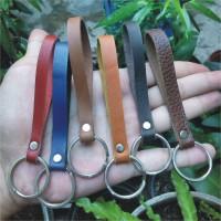 gantungan kunci kulit asli | leather keychain | leather goods souvenir