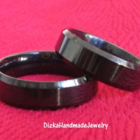 Cincin Couple Monel Hitam