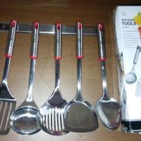 Kitchen Tools Stainless Steel Oxone OX-963 Spatula / Sutil anti karat