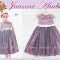 Dress Ungu Lace Tutu - anak