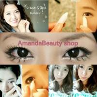 eyeliner white waterproof eye liner putih glitter qlitter sparkle