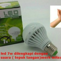 Lampu LED Sensor Tepuk 7W / Bohlam LED Sensor Suara 7 Watt