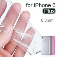Case silicon ultra thin Tranparan For iphone 6 plus