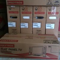 LED TV polytron 32 + speaker tower