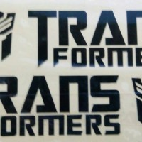 cutting sticker transformer spion mobil