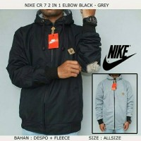 JAKET NIKE CR 7 2 IN 1 ELBOW BLACK -GREY