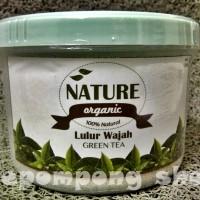 Nature Organic Lulur Wajah Green Tea