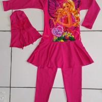 Baju Renang Anak Muslim Barbie