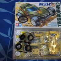 Tamiya Mini 4WD Dash 4 CANNONBALL Metal Plated Body #94821-JAPAN-