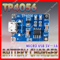 TP4056 Micro USB To Lithium Battery Charger 5V 1A TP-4056