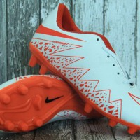 Nike Hypervenom II Putih Orange(sepatu anak,sepatu bola anak,soccer)