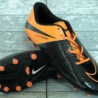 Sepatu Bola Nike Hypervenom Phinish Hitam Orange