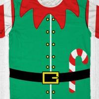 Kaos Santa Sinterklas - Natal Elf Boy