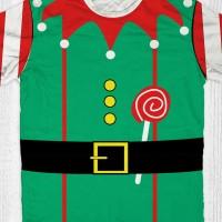 Kaos Santa Sinterklas - Natal Elf Girl
