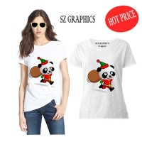 kaos wanita/kaos cewek/t shirt wanita(kaos natal)t shirt christmas