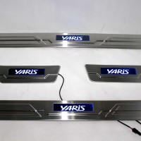 Sillplate Samping LED Stainless Grand All New Yaris