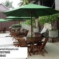 Meja PAyung Cafe Kursi set