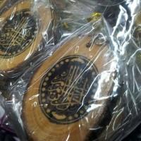 souvenir gantungan kunci kaligrafi