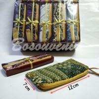 Souvenir Dompet Seleting Batik kemasan Box