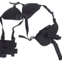 shoulder gun holster tactical pistol magazine pouch with velcro strap