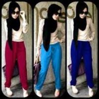 setelan hijaber/pusat kulakan baju muslim murah/model hijab terbaru
