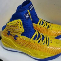 Under Armour Stephen Curry 2 SC30 High Yellow Blue
