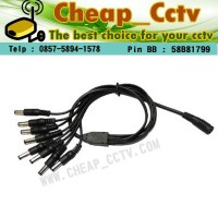ADAPTOR CCTV 8 OUT IN 1